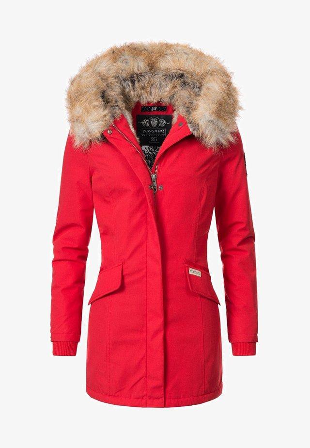 CRISTAL - Winter coat - red