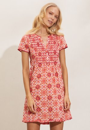 MYRTLE - Day dress - pink fudge
