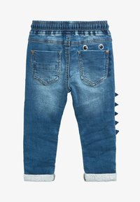 Next - MID BLUE MONSTER CHARACTER JEANS (3MTHS-7YRS) - Slim fit jeans - blue - 1