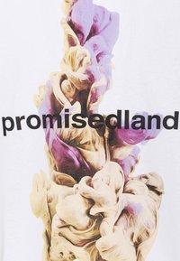 9N1M SENSE - PROMISED LAND UNISEX - Print T-shirt - white - 2