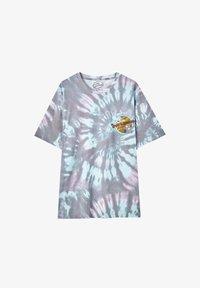 PULL&BEAR - TIE-DYE SIMPSONS - Print T-shirt - grey - 5