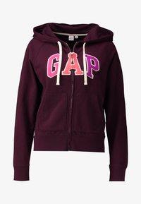 GAP - Zip-up hoodie - secret plum - 4