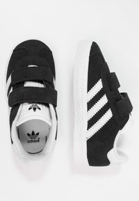 adidas Originals - GAZELLE - Sneakers - core black/footwear white - 0