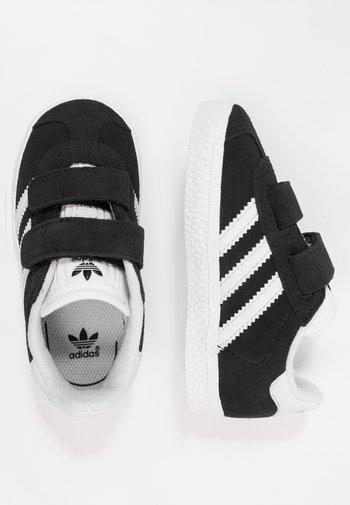GAZELLE - Sneakers laag - core black/footwear white