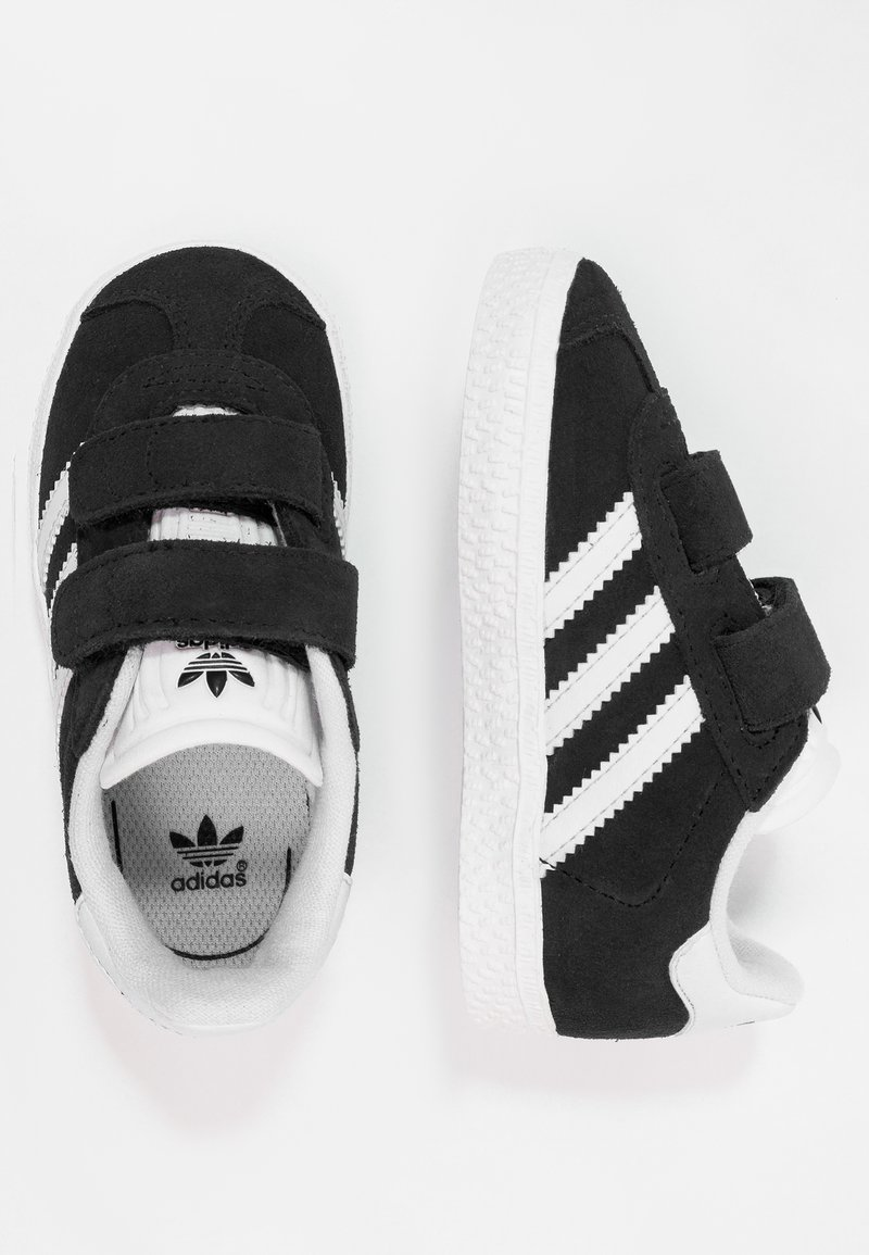 adidas Originals - GAZELLE - Sneakers - core black/footwear white