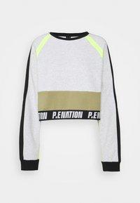 P.E Nation - OPPONENT - Sweatshirt - mottled light grey - 0