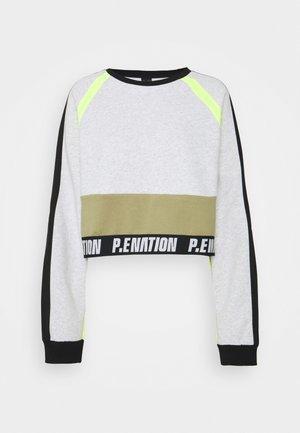 OPPONENT - Sweater - mottled light grey