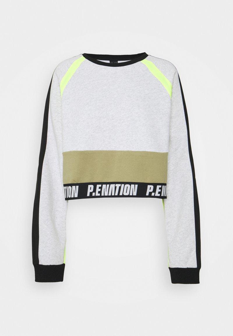 P.E Nation - OPPONENT - Sweatshirt - mottled light grey