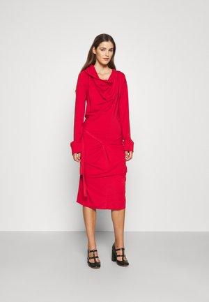 CLIFF DRESS - Jersey dress - red