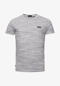 Superdry - OL VINTAGE EMB  - T-Shirt basic - coastal grey space dye - 2