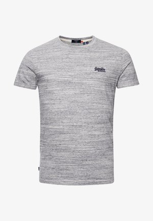 OL VINTAGE EMB  - Basic T-shirt - coastal grey space dye