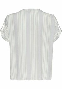 ONLY Carmakoma - LOOSE FIT - Print T-shirt - white - 1