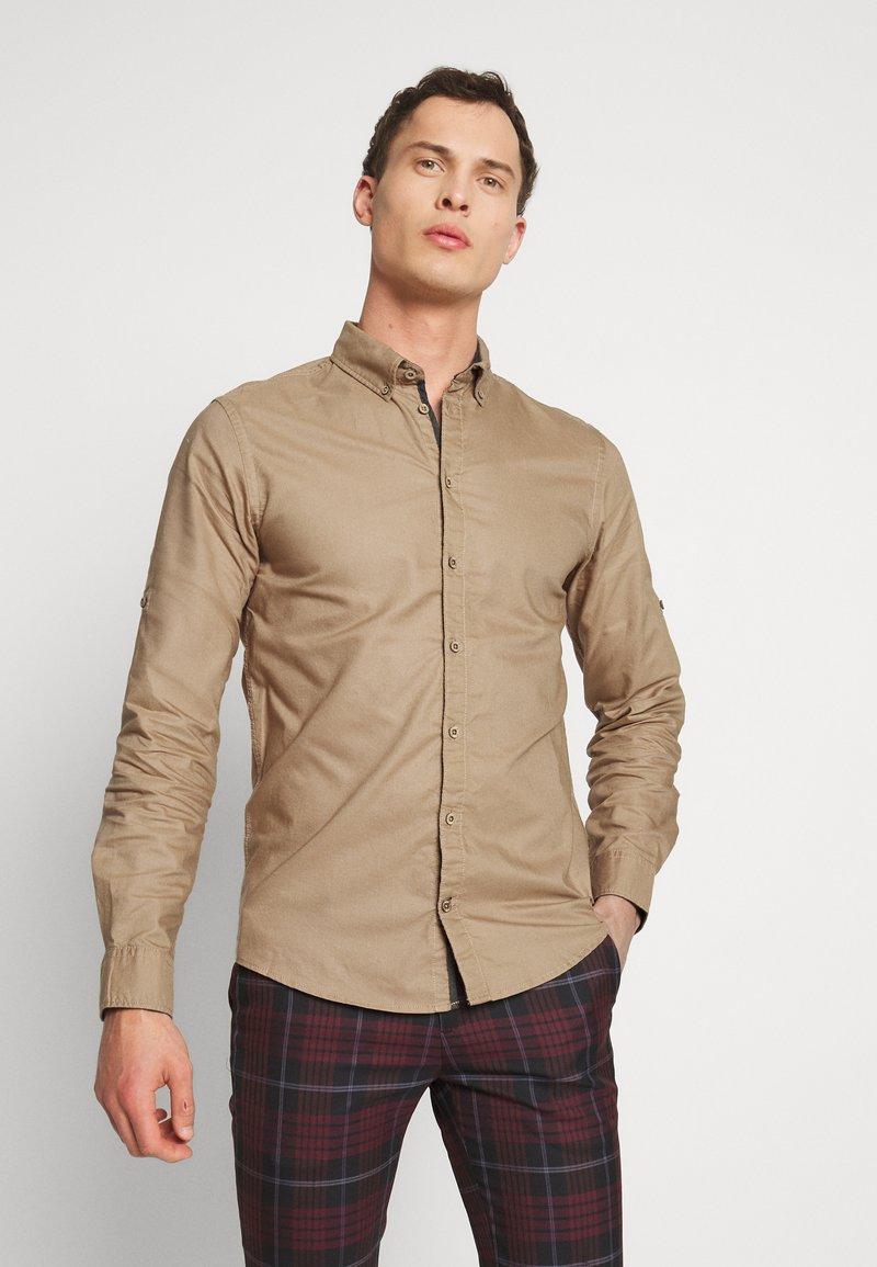 Blend - Hemd - tiger brown