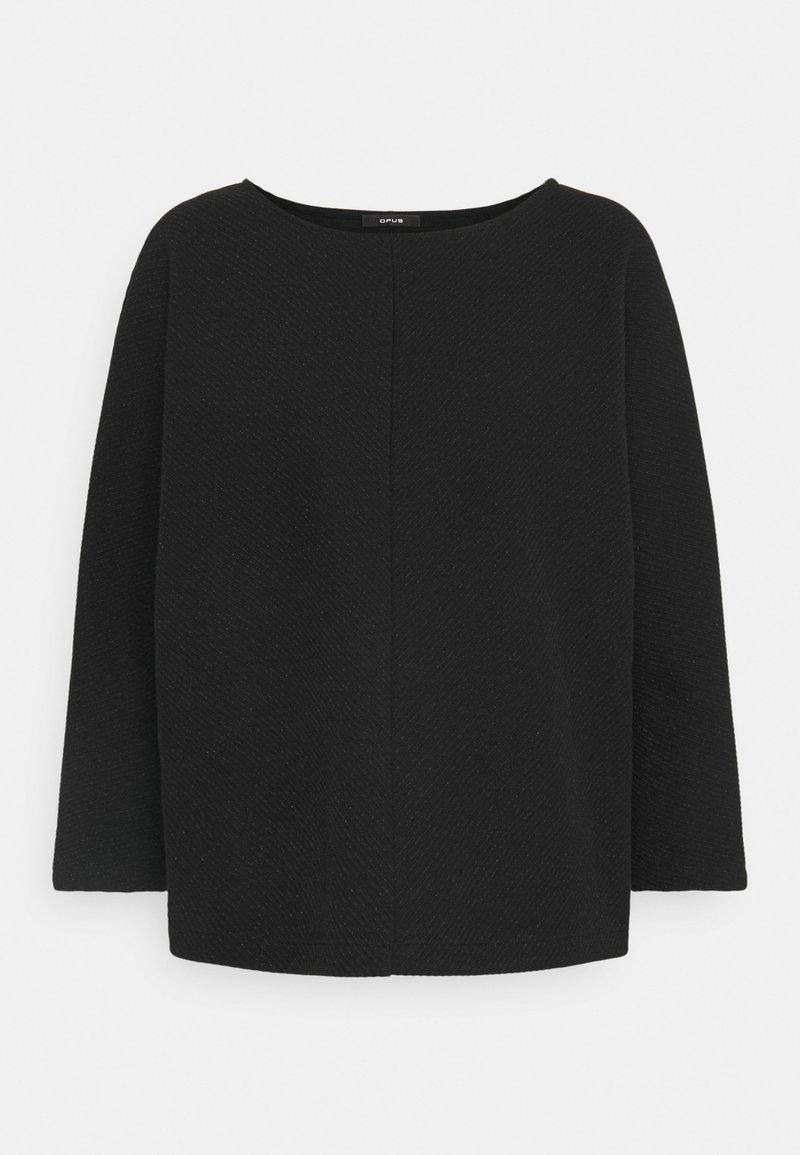 Opus - GUFI - Sweatshirt - black