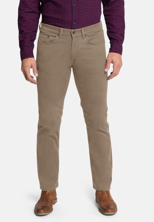 ERIC - Straight leg jeans - toasted coconut