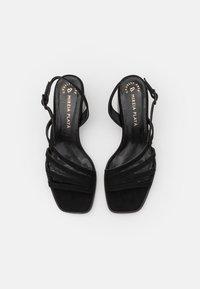 MIREIA PLAYÀ - VEGAN HIPPY - Sandals - black - 5