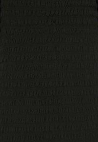 New Look Curves - SHIRRED PLAIN BARDOT MIDI - Day dress - black - 6