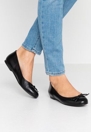 WIDE FIT CARLA - Ballerines - nero