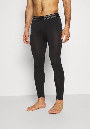 SEAMLESS BODYWEAR LONG - Leggings - black