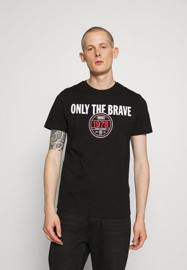 T-DIEGOS-K35 T-SHIRT - T-shirt con stampa - black