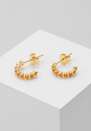 EARRINGS BIRD - Orecchini - gold-coloured