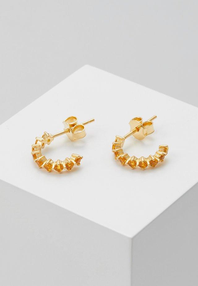 EARRINGS BIRD - Oorbellen - gold-coloured