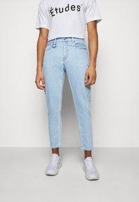 Études - SPACE UNISEX - Straight leg jeans - stone - 0
