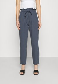 ONLY - ONLKIRAS LIFE PANTS - Trousers - ombre blue - 0