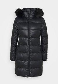 ESSENTIAL REAL COAT - Down coat - black