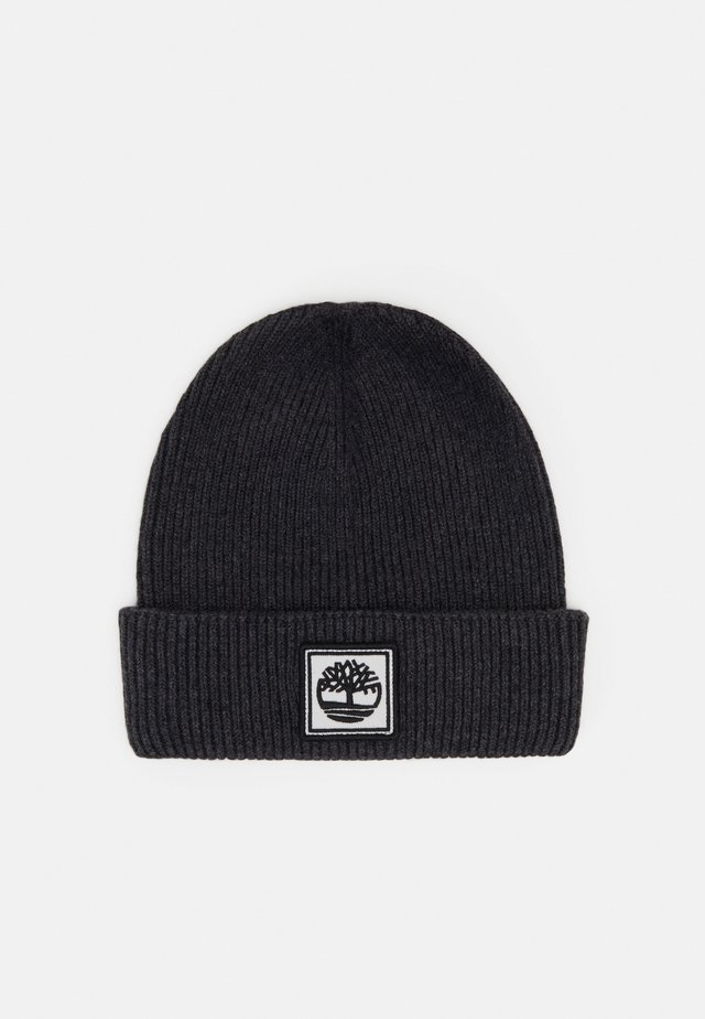 PULL ON UNISEX - Beanie - charcoal marl
