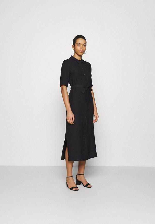 SORBONNE DRESS - Skjortekjole - black