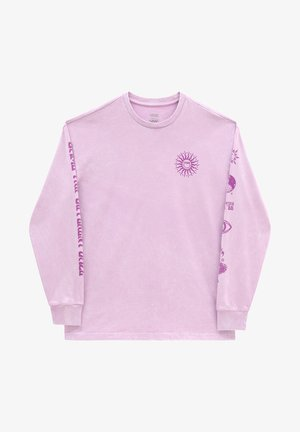 WM FADED DAZE OVERSIZED LS - Sweatshirt - orchid