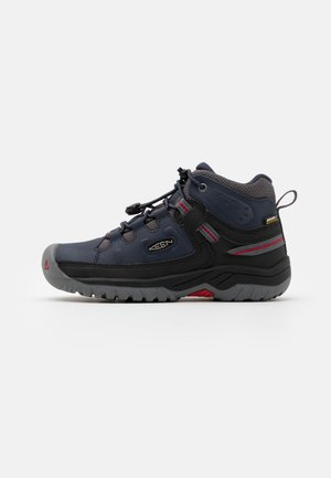 TARGHEE MID WP - Hiking shoes - blue nights/red carpet