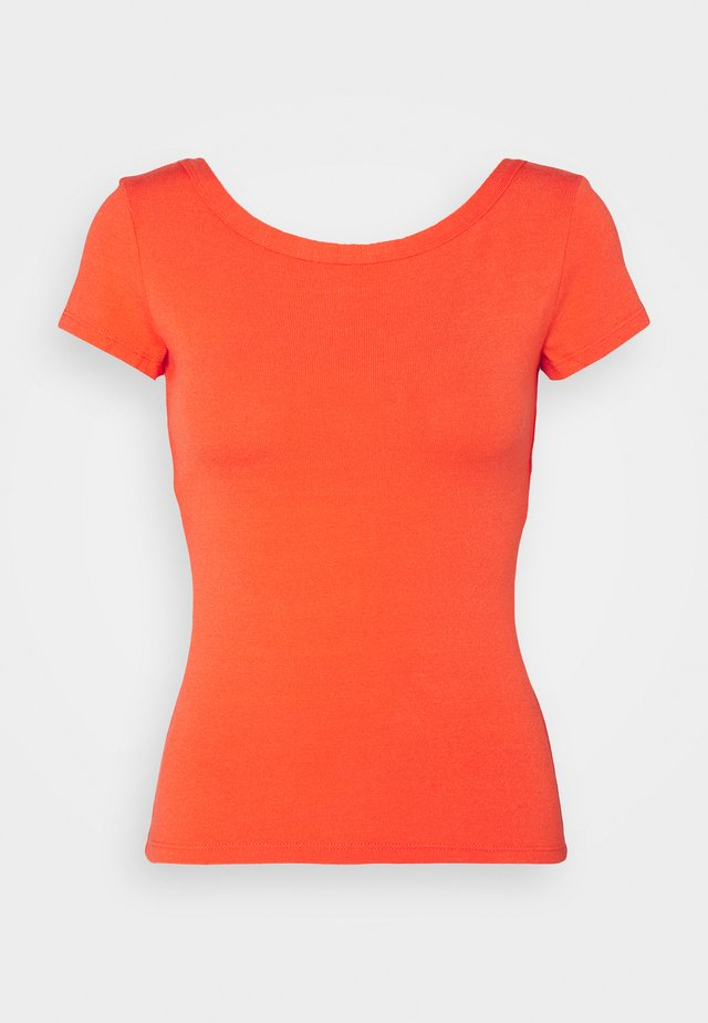 DANZANTE - T-shirt imprimé - orange