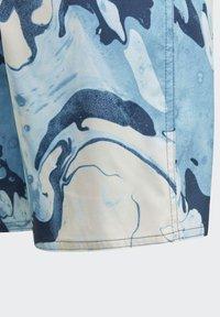 adidas Performance - WAVEBEAT - Swimming shorts - blue - 3