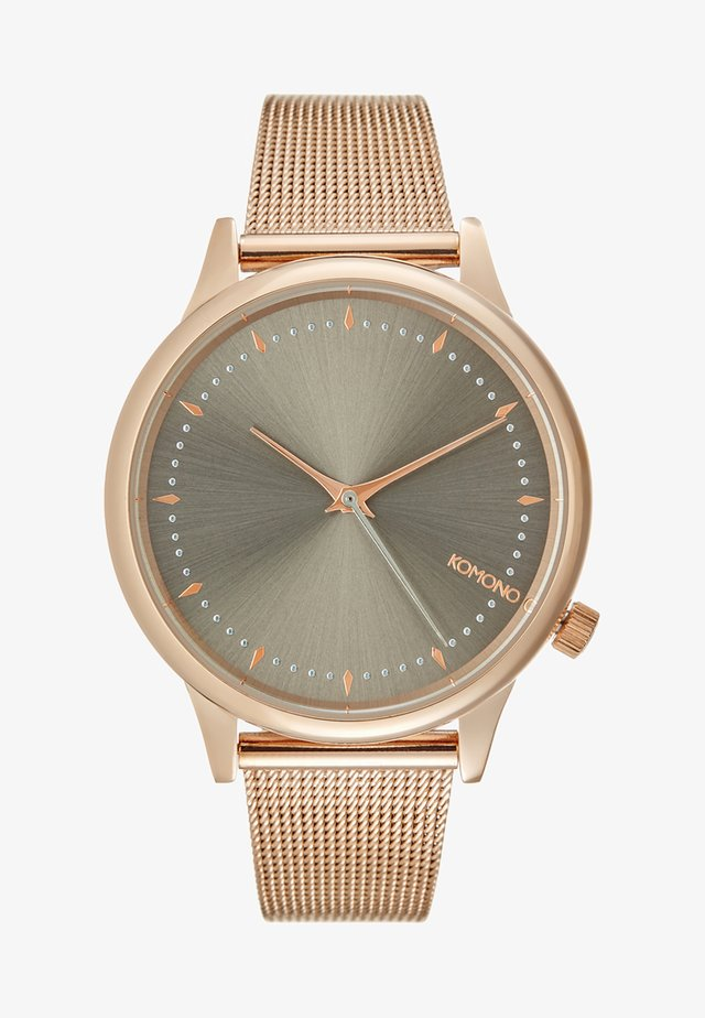 ESTELLE ROYALE - Zegarek - rose gold-coloured/grey
