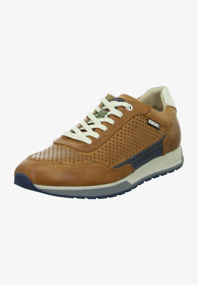 Sneakers laag - braun-kombi