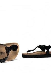 BAYTON - T-bar sandals - black - 4