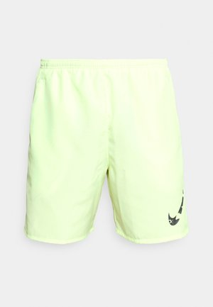 RUN SHORT - Sports shorts - lime ice/black