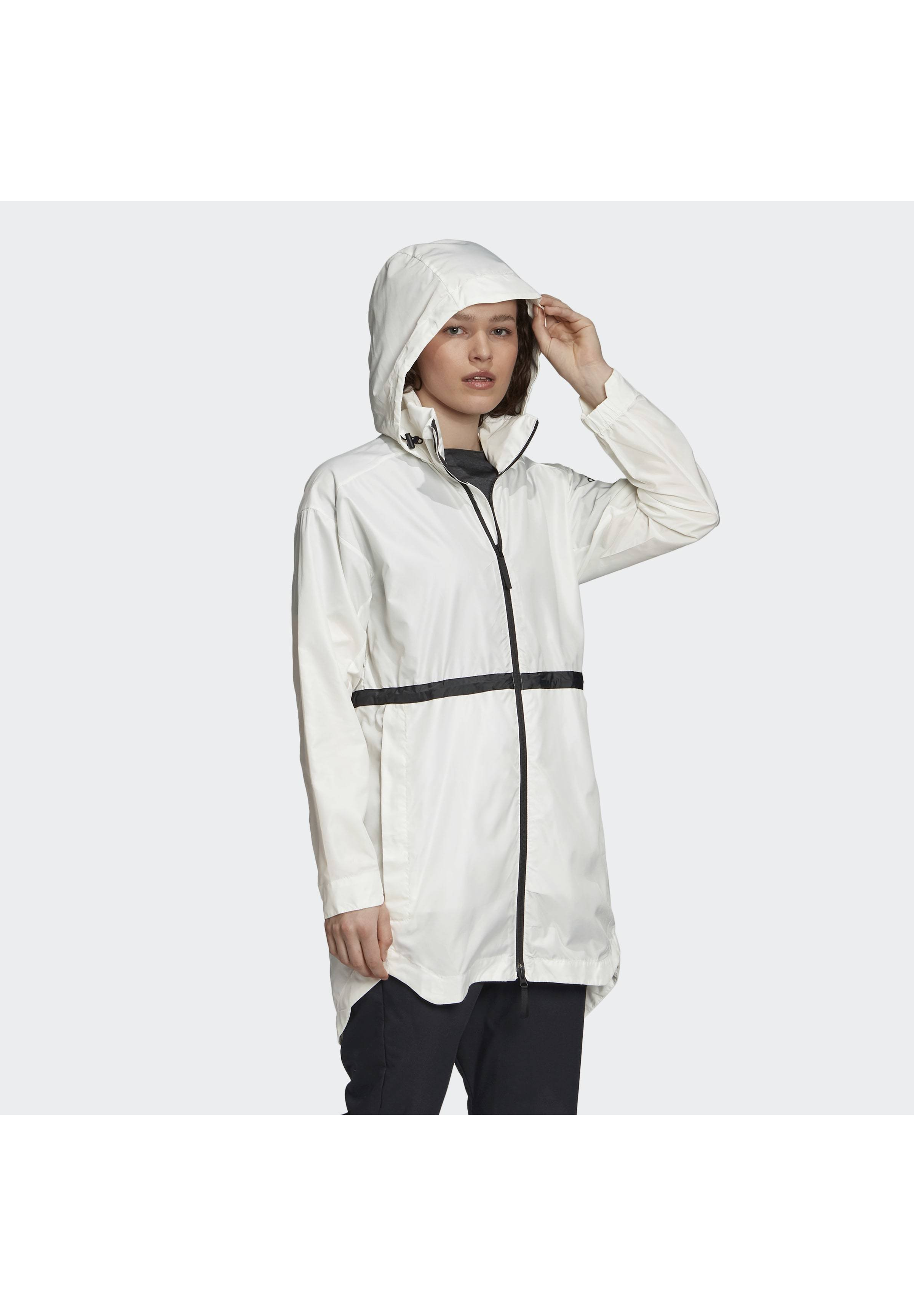 Super Specials Women's Clothing adidas Performance URBAN WIND.RDY PARKA Windbreaker white b9cVxlw6m