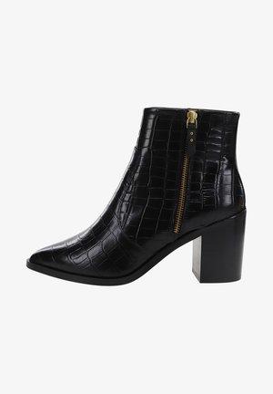 CELESTE - ANKLE BOOTS - Korte laarzen - black