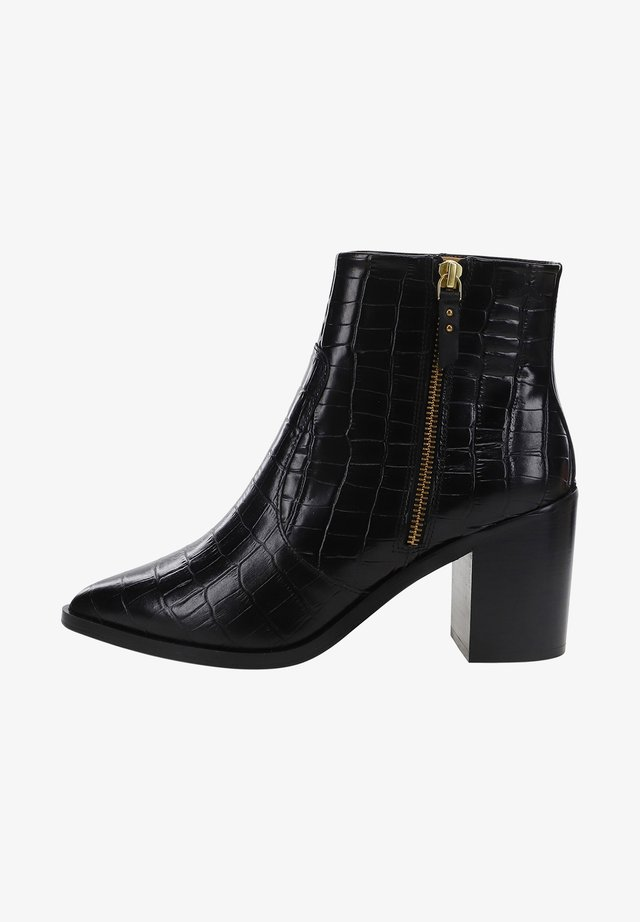 CELESTE - ANKLE BOOTS - Bottines - black
