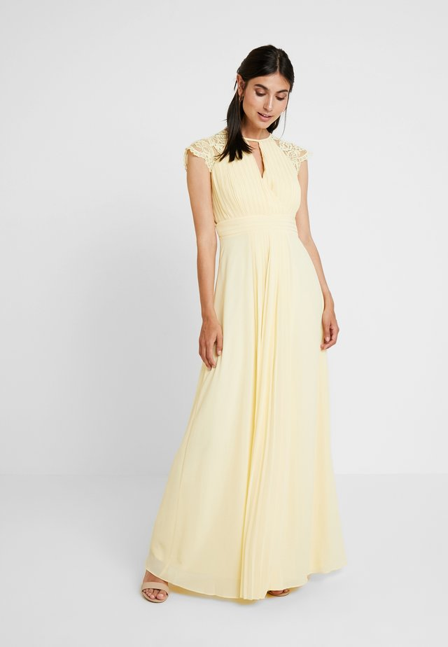 NEITH MAXI - Festklänning - pastel yellow