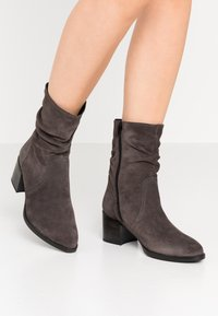 Tamaris - Classic ankle boots - anthracite - 0