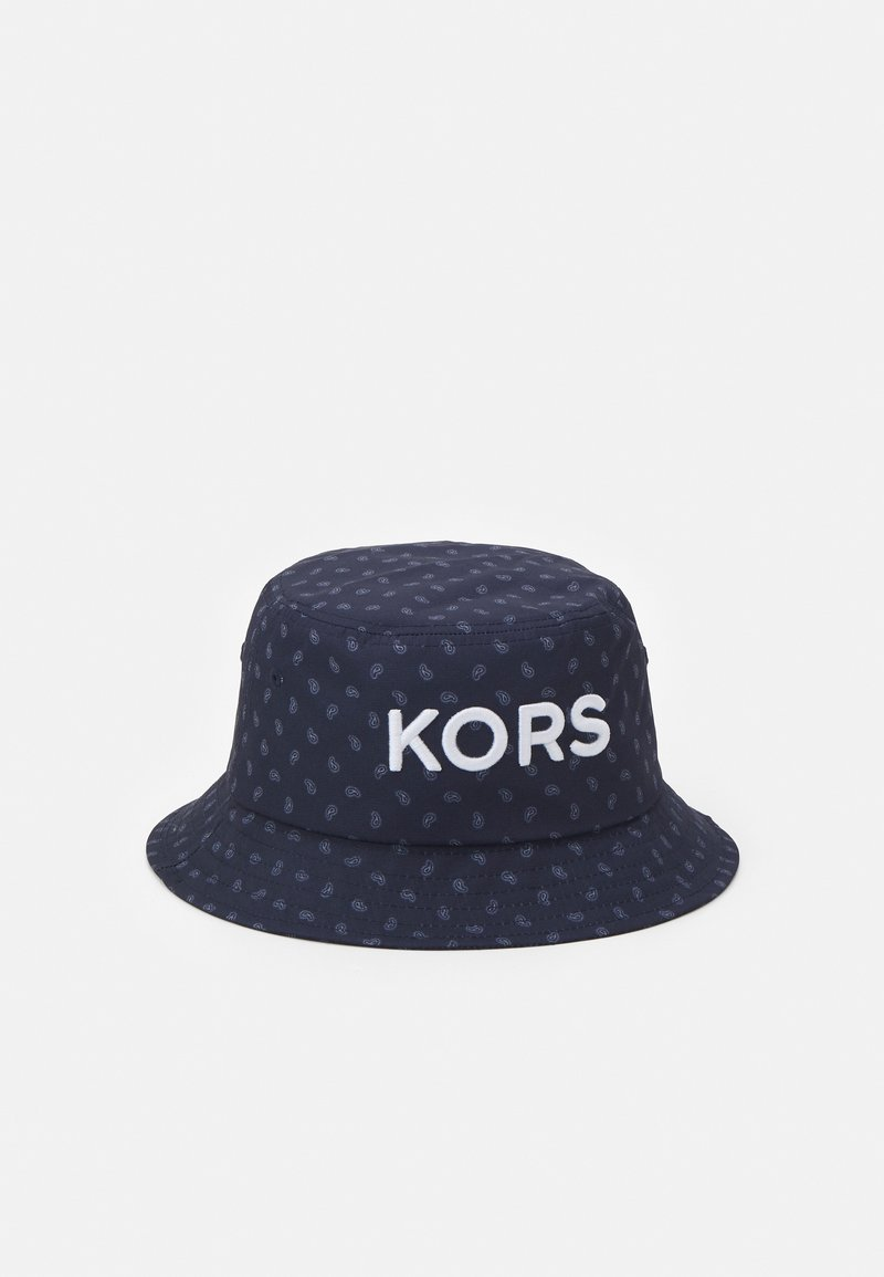 Michael Kors - PAISLEY BUCKET HAT UNISEX - Hat - dark midnight