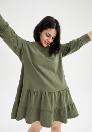 Vapaa-ajan mekko - khaki