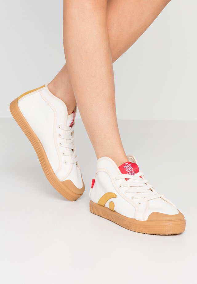 TAYLOR - Sneakers high - offwhite/sun