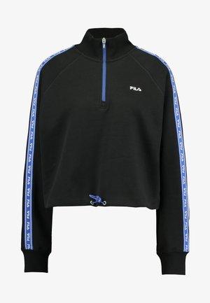 URA HALF ZIP  - Sweatshirt - black