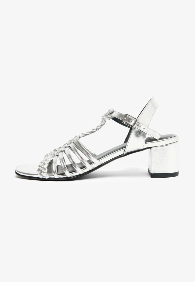 KATELL - Sandales - silver