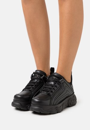 VEGAN QUIANA - Sneakers basse - black